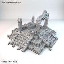 Aztec Ruins 28mm D&D Terrain Warhammer
