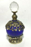 Vintage  Perfume bottle Glass.