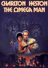 THE OMEGA MAN Movie POSTER 27x40 C Charlton Heston Anthony Zerbe Rosalind Cash