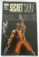 MARVEL | SECRET WAR | BOOK TWO OF FIVE (2004) | SIGNIERT SIGNED DELL'OTTO | Z 2