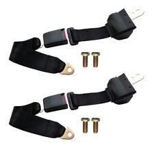 2 Point Retractable Adjustable Universal Auto Car Shoulder Safety Seat Belt Usa