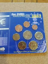 Greece  2002 euro coin set
