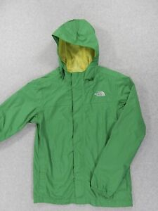 The North Face HyVent WaterProof Rain Jacket (Boys Large 14/16) Green