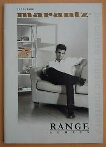 Catalogue Marantz 1999-2000 Range Series