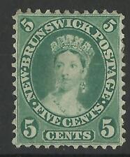 CANADA / NEW BRUNSWICK 1860-63 5d MINT (A)