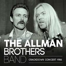 """The Allman Brothers Band """"The Crackdown Concert"""" 2x12"""" Vinyl"""