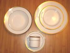 """Ciera Gold Band """"Fountain� Pattern Fine China – Select Your Serving Pieces!"""