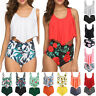 Womens Bikini Set High Waisted Swimsuit Push Up Padded Bra Swimwear Bathing Suit