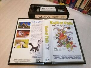 FOOTROT FLATS: THE DOG's TALE - Rare Oz/Nz Sell Through on Vhs - ANIMATED COMEDY