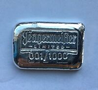 "1oz Hand Poured 999 Silver Bullion Bar ""Yeagermeister Limited"" by YPS"