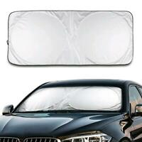Automatic car front and rear window foldable can treasure sun windshield cover V