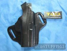 Tagua Leather Thumb Break  Belt Holster -for Springfield XD 40 - Black RH