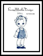 LAURA WHEELER ~MO 685~ BOY SOCK Doll Sewing Pattern Vintage Adorable Stuffed TOY