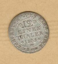 Brunswick-Wolfenbüttel 1/12 einen thaler 1801