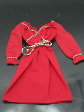 1979 SUPERSTAR BARBIE FASHION COLLECTIBLES RED ROPE TIE DRESS best buy