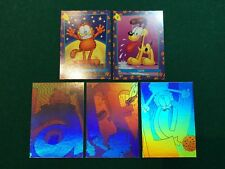 1992 SkyBox GARFIELD HOLOGRAMS H2 H3 H5 & COMPLETE PROMO Cards Set
