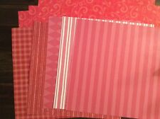 """Close To My Heart Assortment #7 12""""x12"""" B&T Duo Paper"""