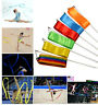 Gym Dance Ribbon Rhythmic Art Gymnastic Ballet Streamer Twirling Rod 8COLOR 4M