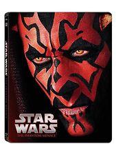 Star Wars: Episode I - The Phantom Menace Steelbook [Blu-ray]