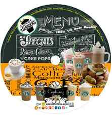 Starbucks Cafe Secret Recipes Cook book & More cd drinks baking coffee dessert