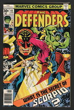 THE DEFENDERS #48, Marvel Comics, 1977, NM- CONDITION COPY, SCORPIO!