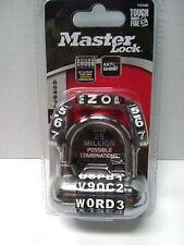 New Master Lock 2 12 In 5 Dial Combination Hardened Steel Padlock Sealed