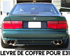 LAME COFFRE SPOILER AILERON LEVRE pour BMW E31 SERIE 8 COUPE 89-2000 840 850 Ci