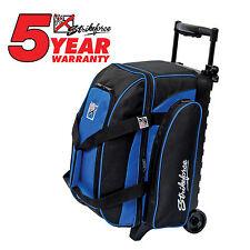 KR Strikeforce Eliminator Double Roller 2 Ball Bowling Bag Royal