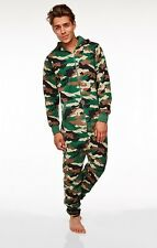 CAMO JUMPSUIT (ADULT) ONE SIZE FITS MOST