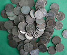 100 Coin 1943 Steel Wheat Cent Lot Wheat Back Wheaties Penny One Cent 1c Coin m1