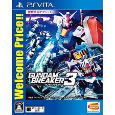 Gundam Breaker 3 (Welcome Price) PS Vita SONY JAPANESE NEW JAPANZON
