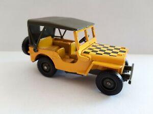 """Solido - 1/50 - Jeep jaune """"Follow me"""" US Air Force, WW2 - Excellent état #3"""