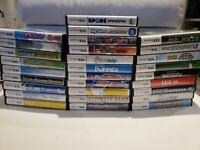 Nintendo DS 29 Mixed Game Lot - Brainium Games, Rabbids, Moshi, ZhuZhu, Shrek