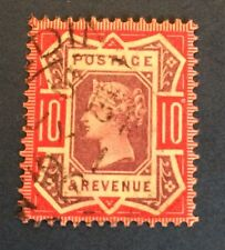 Grande Bretagne N° 102 10 p Rouge Et Violet Oblitéré TB Cote 47,€50