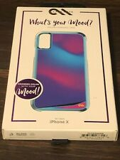 """Casemate """"What's your Mood?"""" for iPhone X - Brand New!"""