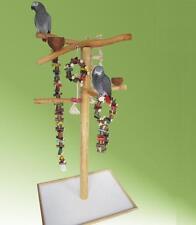 FREISITZ aus ROTBUCHENHOLZ, Papageienspielzeug, mittlere Papageien, 165 cm