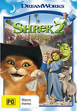 SHREK 2 - BRAND NEW & SEALED DREAMWORKS DVD (ANTONIO BANDERAS AS PUSS IN BOOTS)