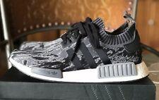 Adidas NMD R1 PK Black Grey Glitch Camo Men's size 11.5 BZ0223