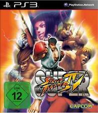 Playstation 3 SUPER STREET FIGHTER 4 * DEUTSCH * Neuwertig