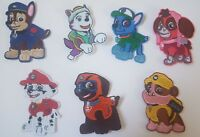 Paw Patrol TV show Characters Iron On Patch Sew On Transfer