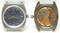 Orologio Lanco o clan mechanical watch lanco clock vintage montre swiss o'clan