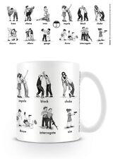 Boxed Ceramic Gift Mug - The Umbrella Academy Defence & Dominate