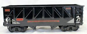 Buddy L Outdoor Railroad GONDOLA CAR  #70836 T-REPRODUCTIONS Train Set BLACK