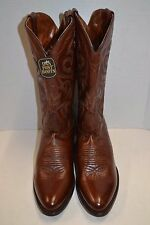 Dan Post Mens Milwaukee Antique BROWN Leather DP2111R WESTERN BOOTS SZ 10 D