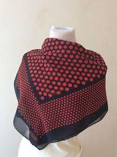 Moschino, foulard scarf seta Vintage