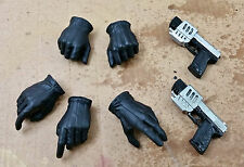 1/6 BLADE II Hand GLOVED Handgun Clothing Abigail whistler suit Sword Hot Toys