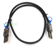 New External Multila Mini SAS SFF-8088 to SFF-8088 Cable Mini SAS 26P 3FT 1M