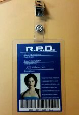 Resident Evil ID Badge-R.P.D Jill Valentine  prop costume cosplay