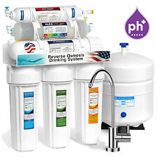 10stage undersink reverse osmosis alkaline mineral water filter system 50 gpd - Water Filter
