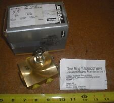 """PARKER Gold Ring 04F38C1122AAF 1/4"""" NPT  Three-Way Normally Closed Valve Body"""